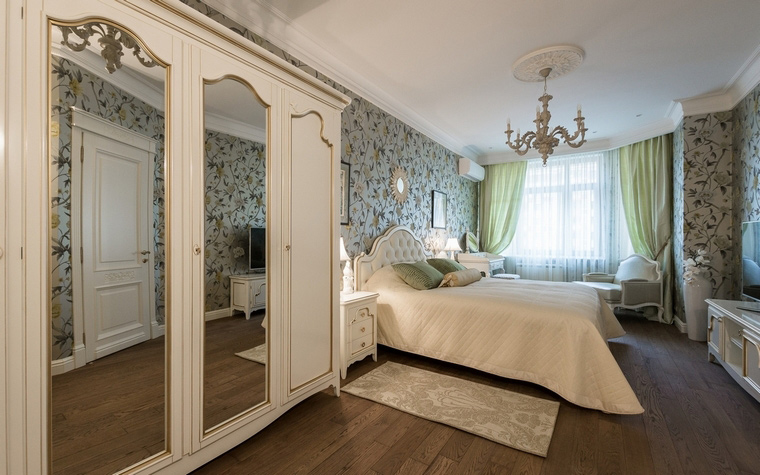 Квартира. спальня из проекта , фото №55520