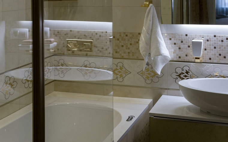 Квартира. ванная из проекта , фото №55527