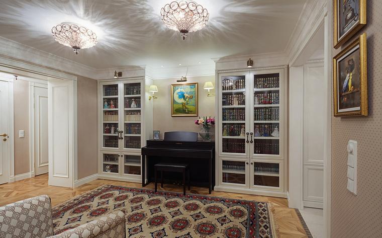 интерьер гостиной - фото № 55565