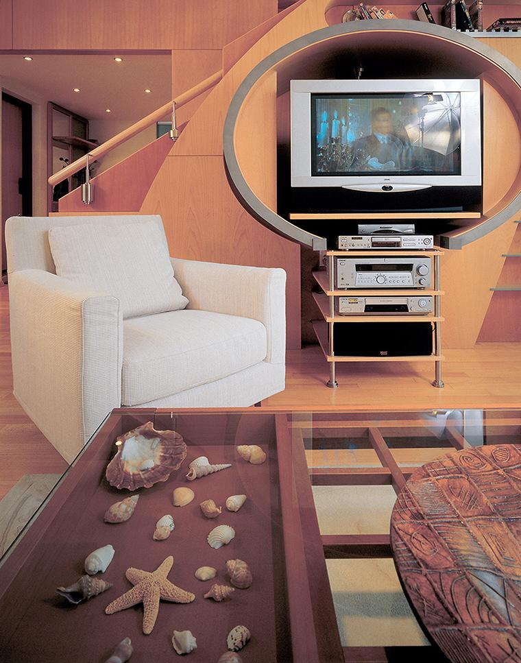 интерьер гостиной - фото № 55568