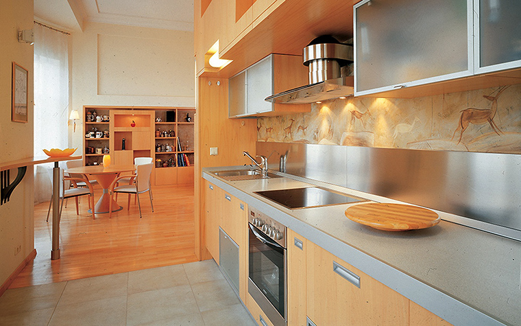 Фото № 55569 кухня  Квартира