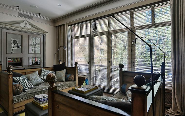 Квартира. гостиная из проекта , фото №55611