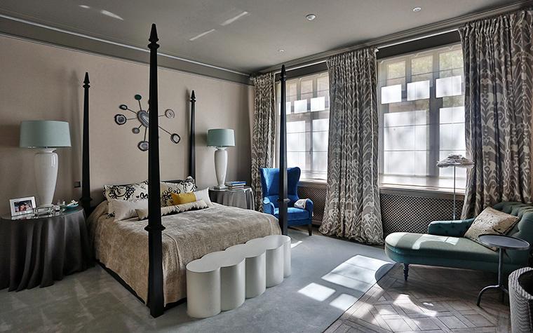 Квартира. спальня из проекта , фото №55618