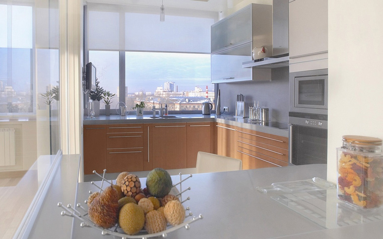 интерьер кухни - фото № 55624