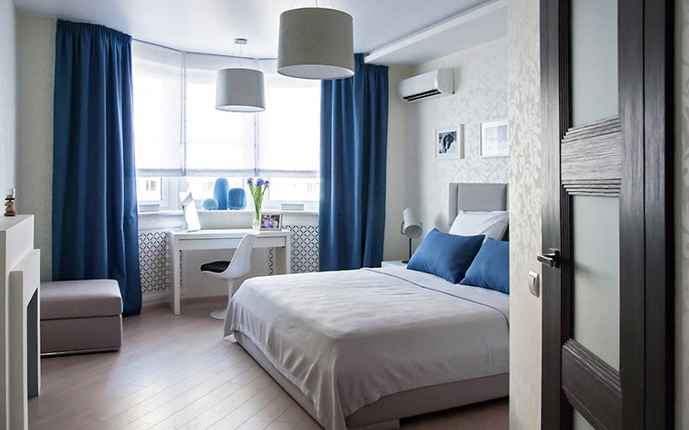 Фото № 55668 спальня  Квартира