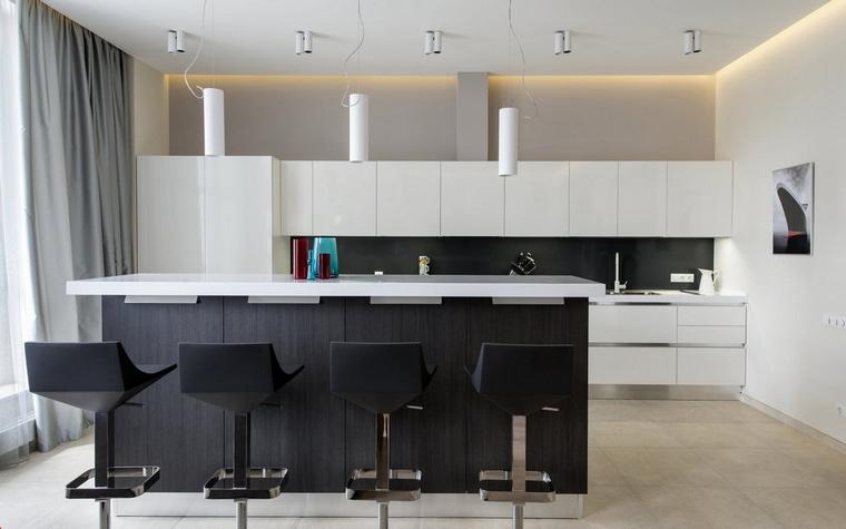 Квартира. кухня из проекта , фото №55674