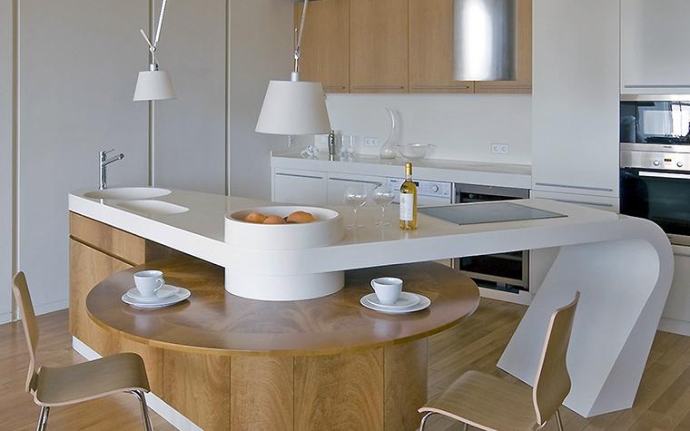 Фото № 55731 кухня  Квартира