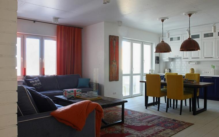 Фото № 55740 гостиная  Квартира
