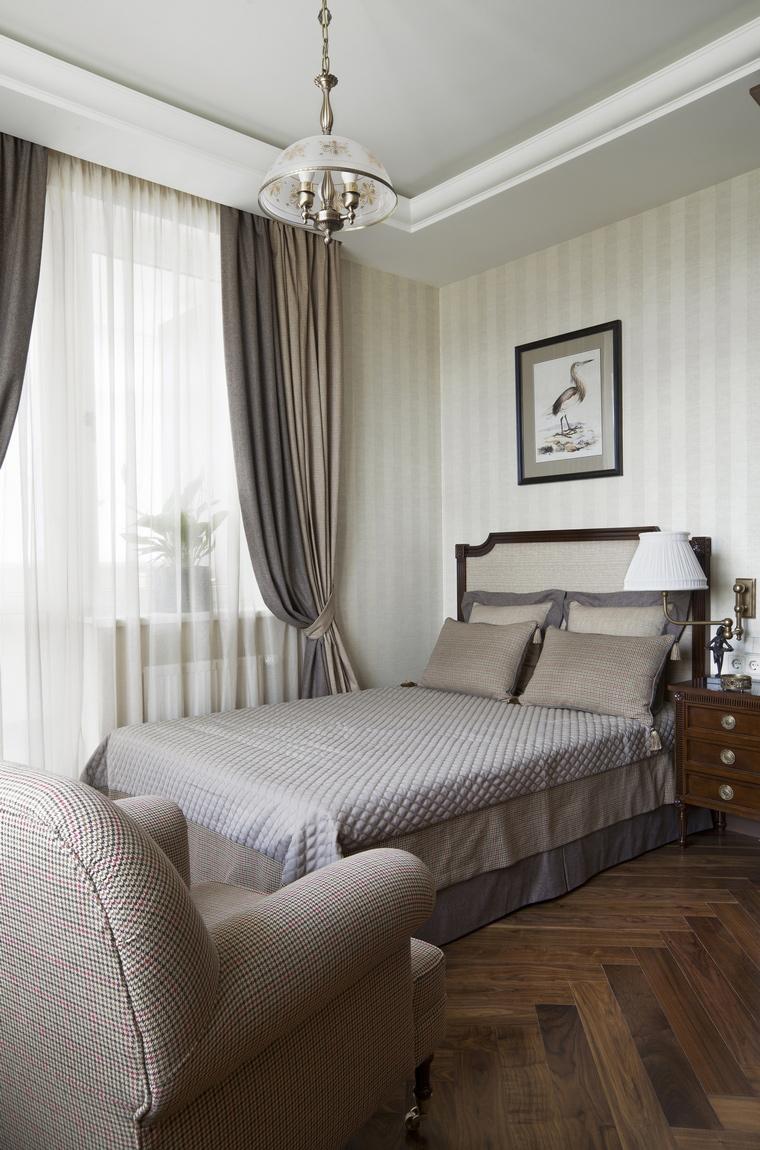 интерьер спальни - фото № 55799