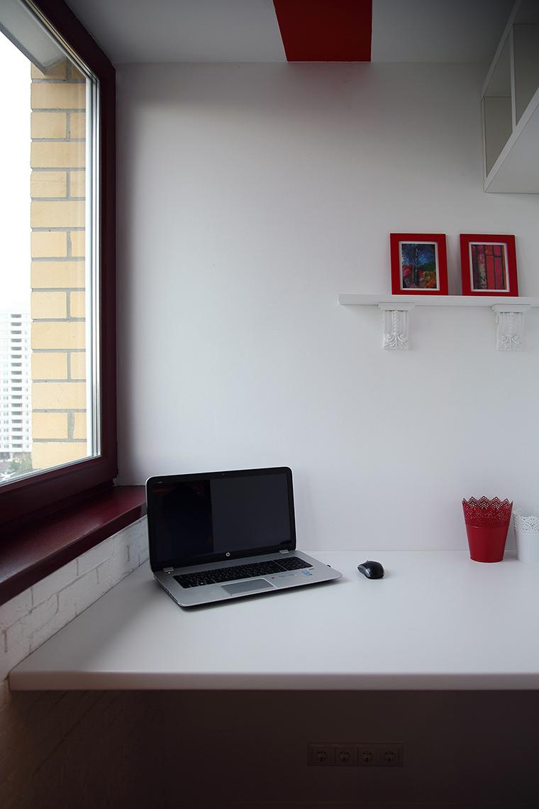 Фото № 55855 кабинет библиотека  Квартира