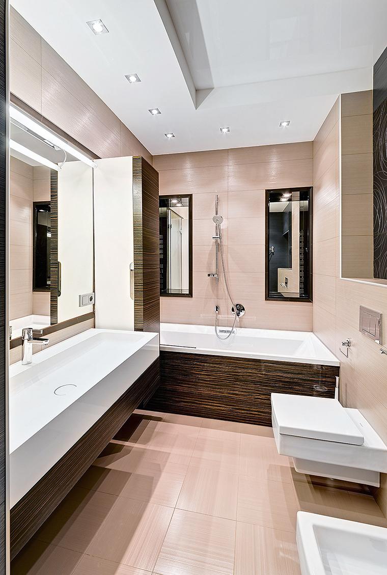 Квартира. ванная из проекта , фото №56184