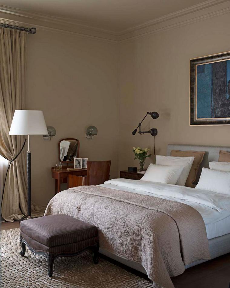 интерьер спальни - фото № 56311