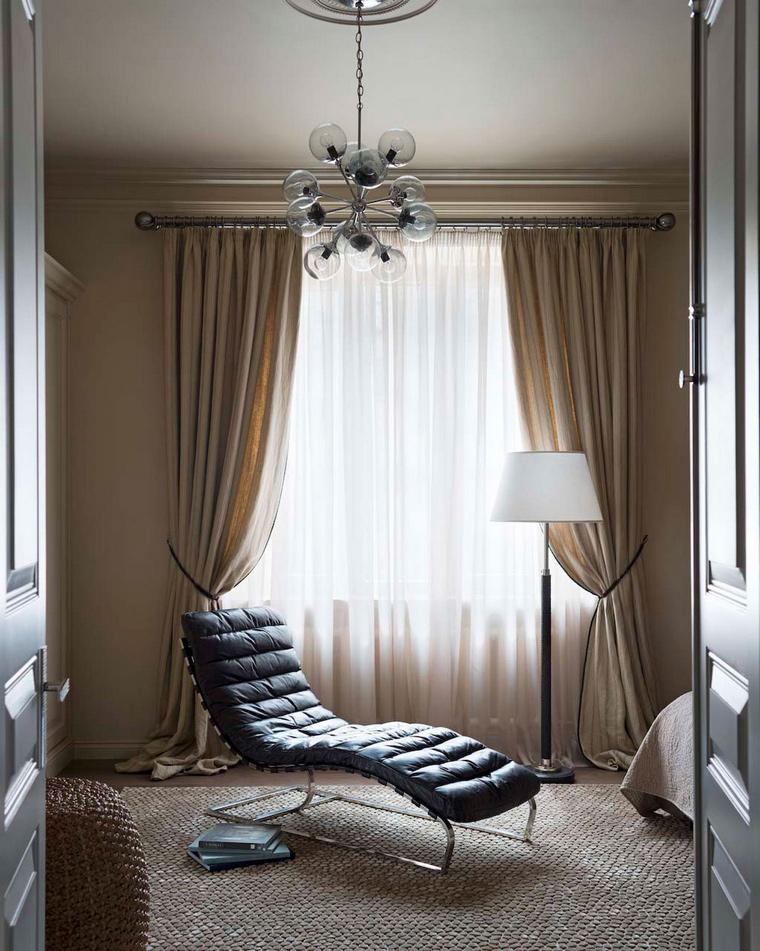 интерьер спальни - фото № 56312