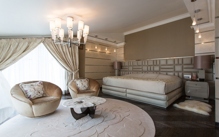 Квартира. спальня из проекта , фото №56350