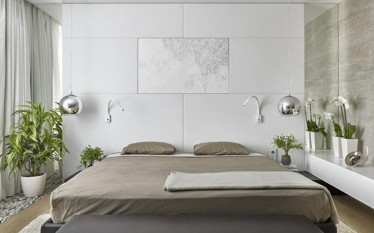интерьер спальни - фото № 56409