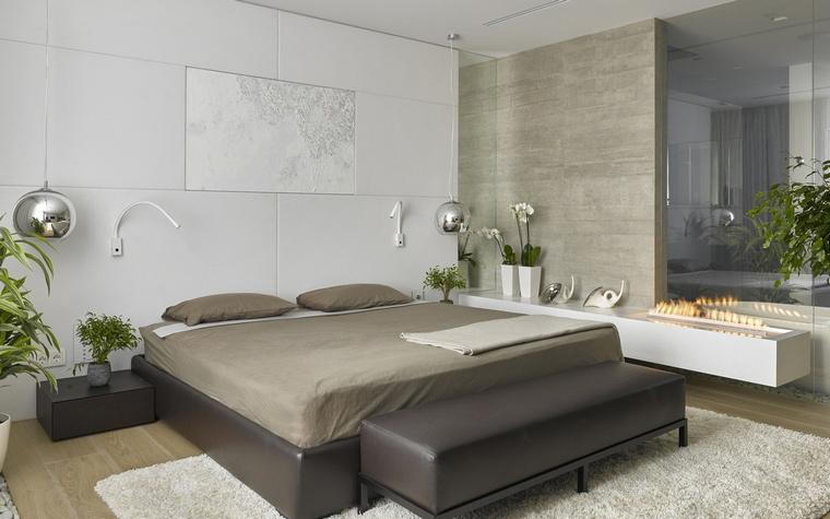 интерьер спальни - фото № 56410