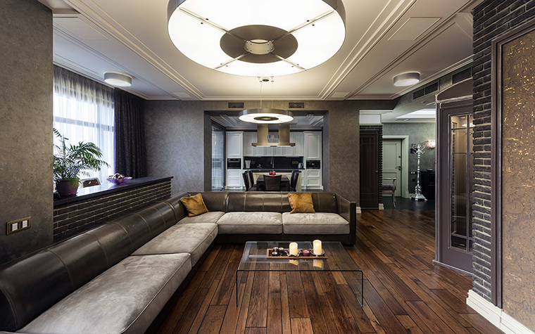 интерьер гостиной - фото № 56432