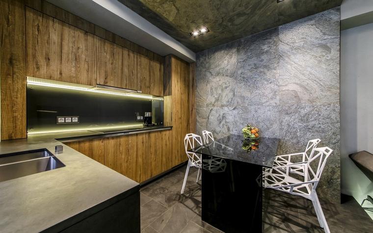 Квартира. кухня из проекта , фото №56460