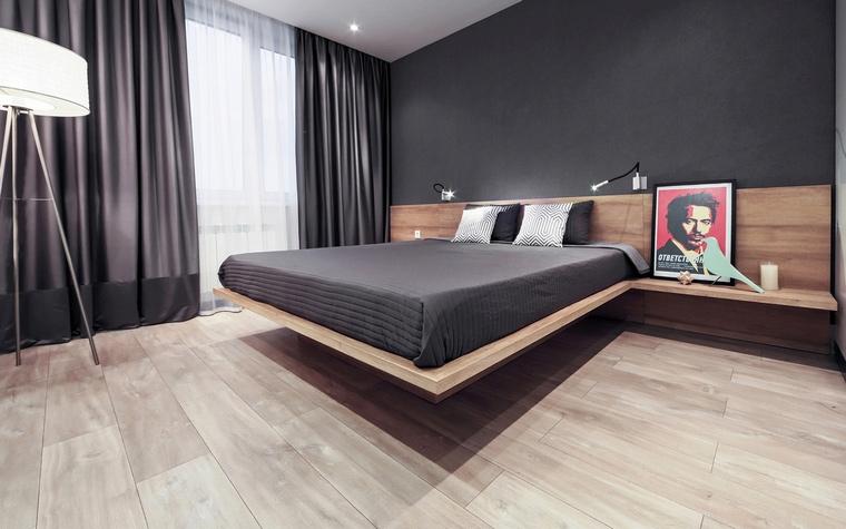 Квартира. спальня из проекта , фото №56616