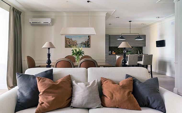 интерьер гостиной - фото № 56597
