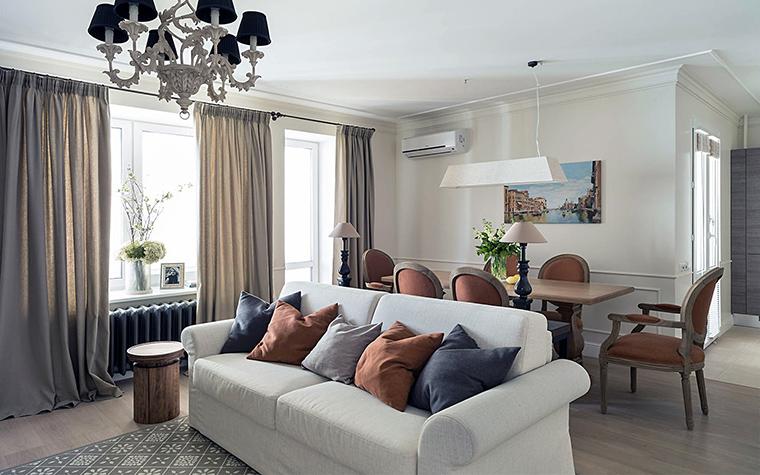 интерьер гостиной - фото № 56598