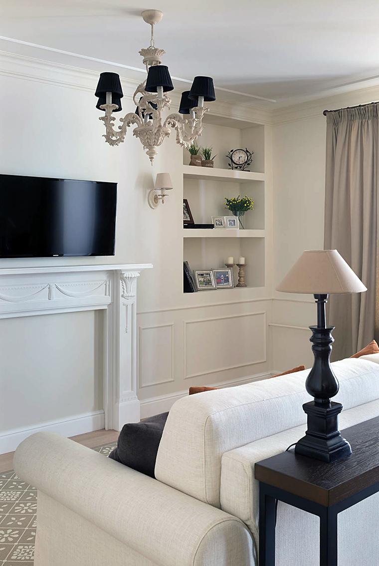 интерьер гостиной - фото № 56599