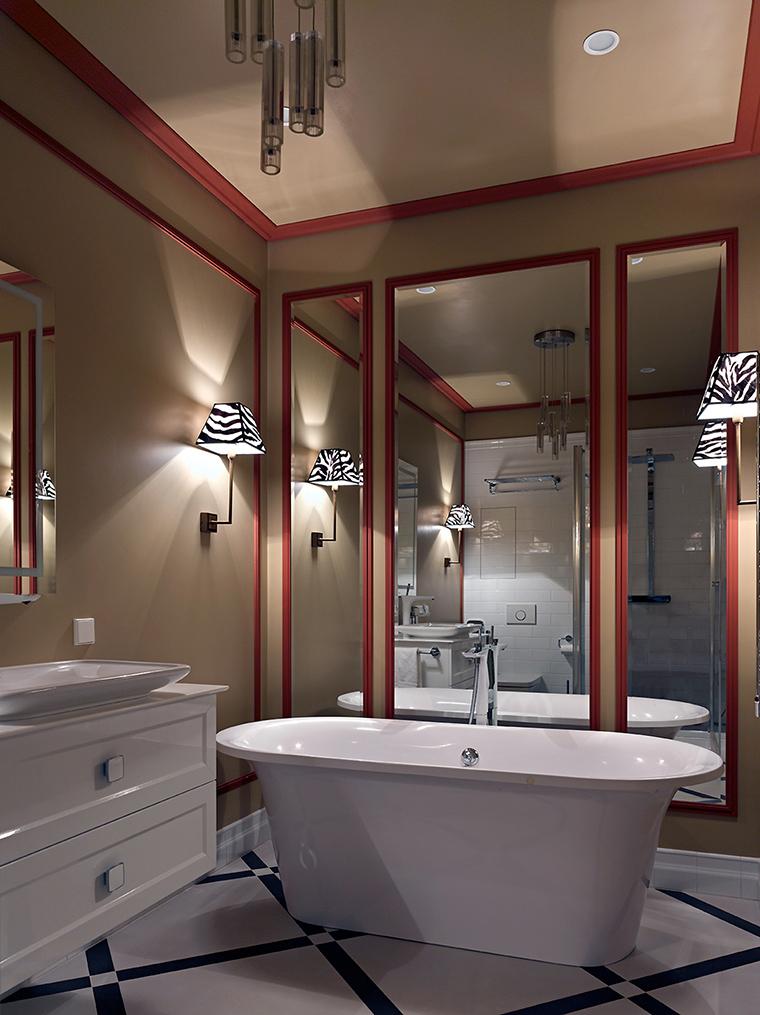 Фото № 56606 ванная  Квартира