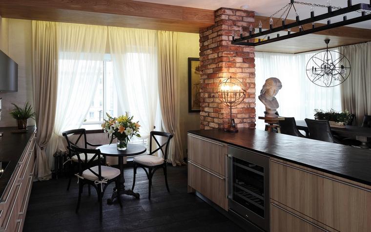 Квартира. кухня из проекта , фото №56652