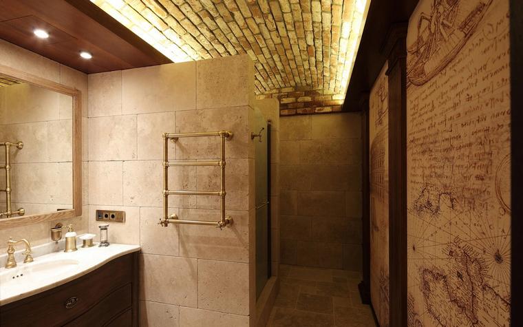 Квартира. ванная из проекта , фото №56664