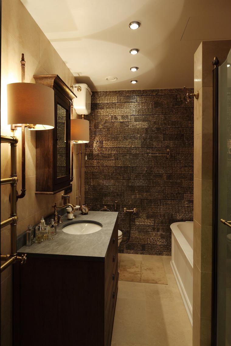 Квартира. ванная из проекта , фото №56665