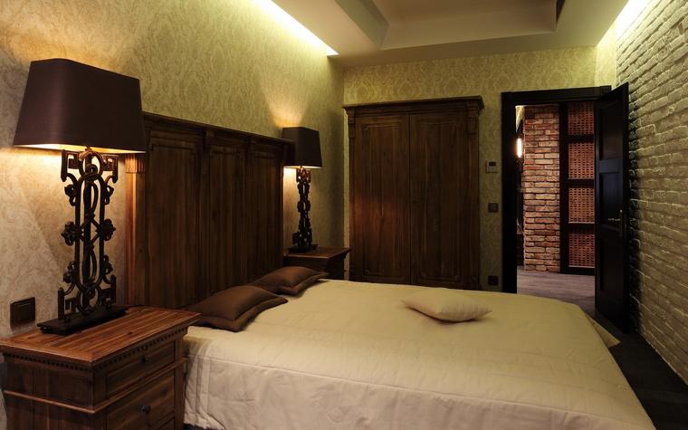 Квартира. спальня из проекта , фото №56661