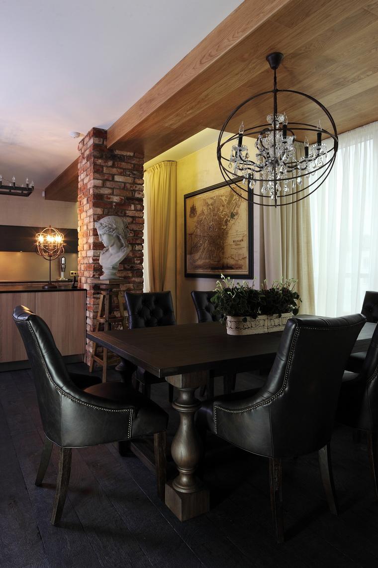 Квартира. столовая из проекта , фото №56656