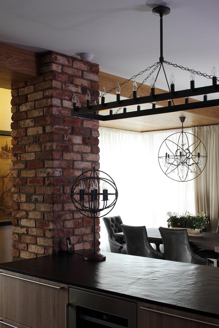 Квартира. столовая из проекта , фото №56659
