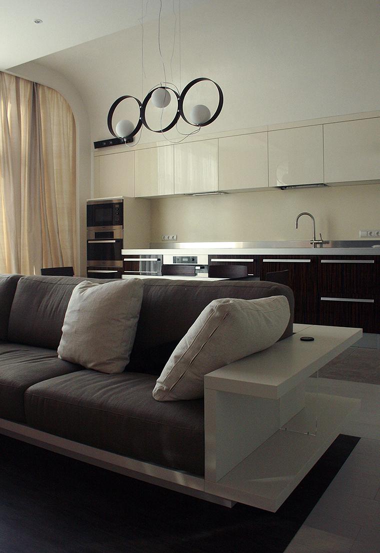 Квартира. гостиная из проекта , фото №56671