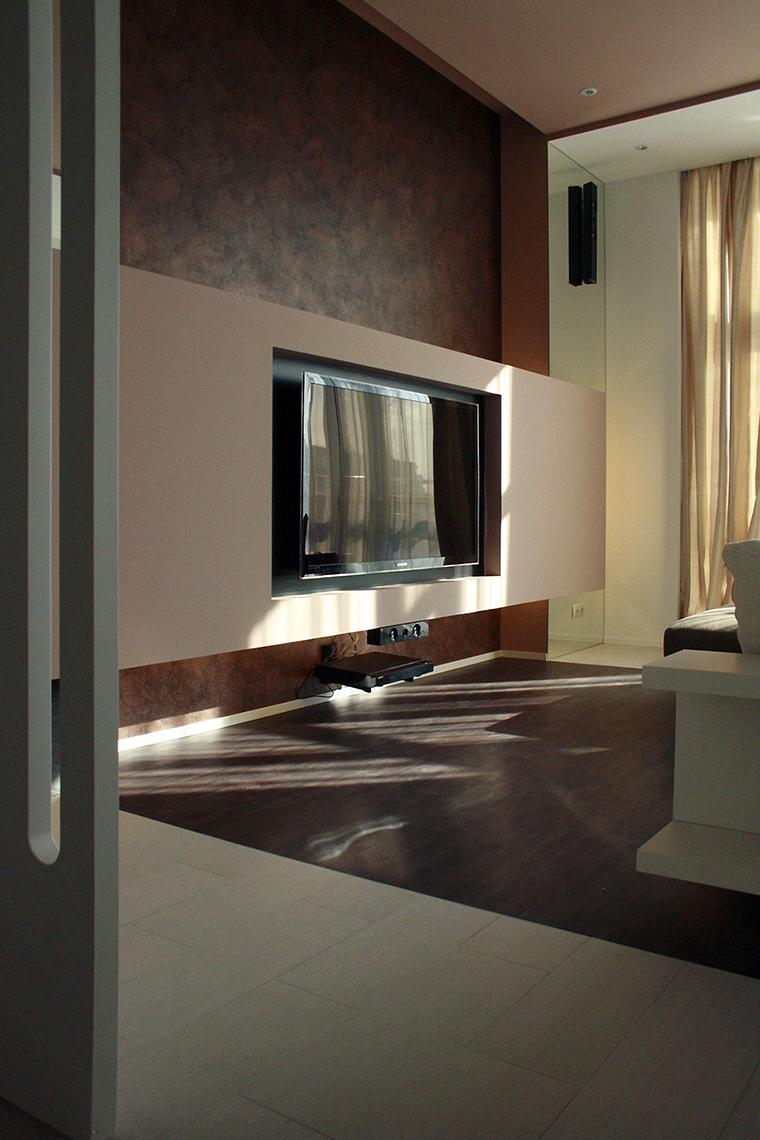 Квартира. гостиная из проекта , фото №56673