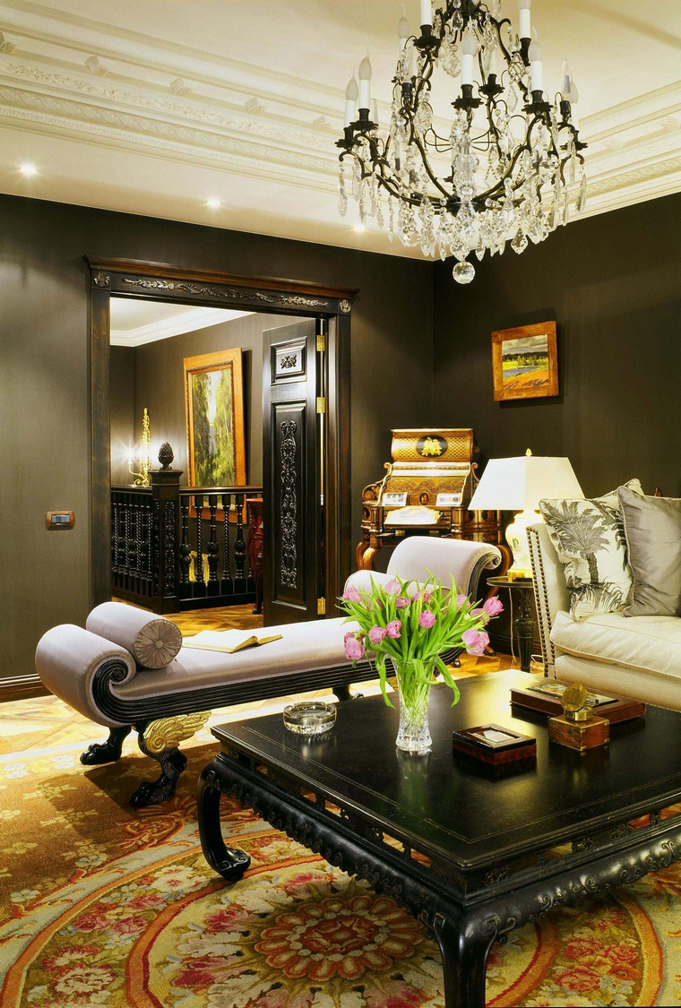 интерьер гостиной - фото № 56700