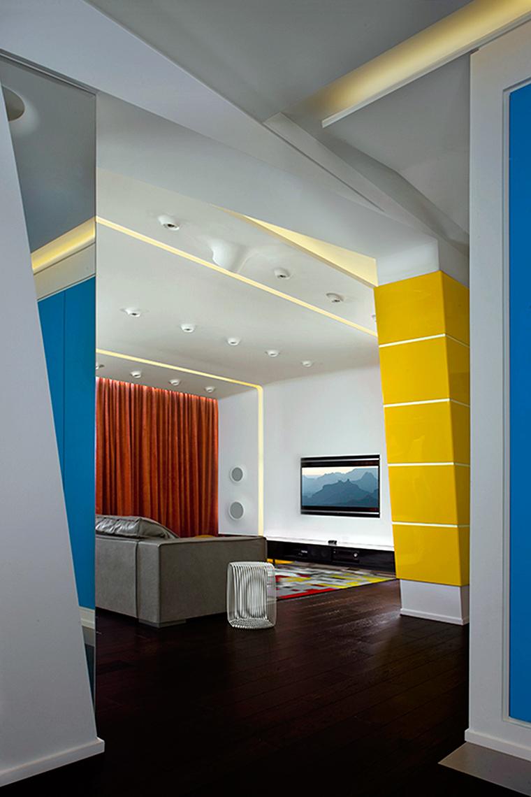 Фото № 56706 гостиная  Квартира