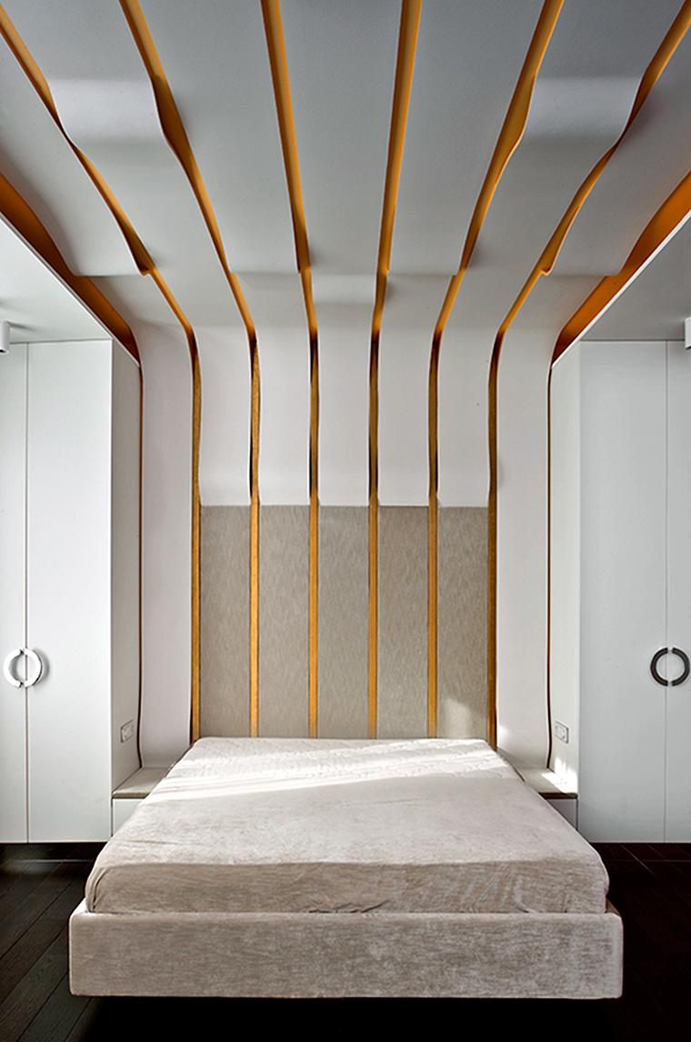 интерьер спальни - фото № 56714