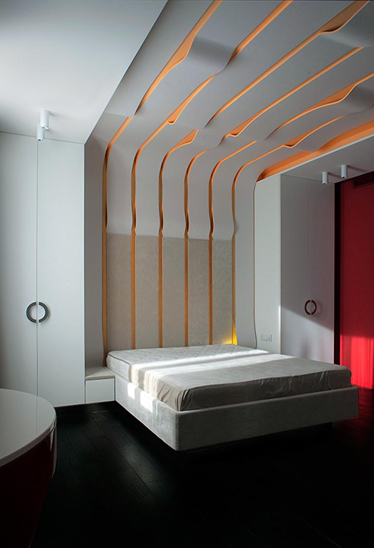 интерьер спальни - фото № 56715