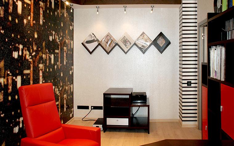 Квартира. кабинет из проекта , фото №56785