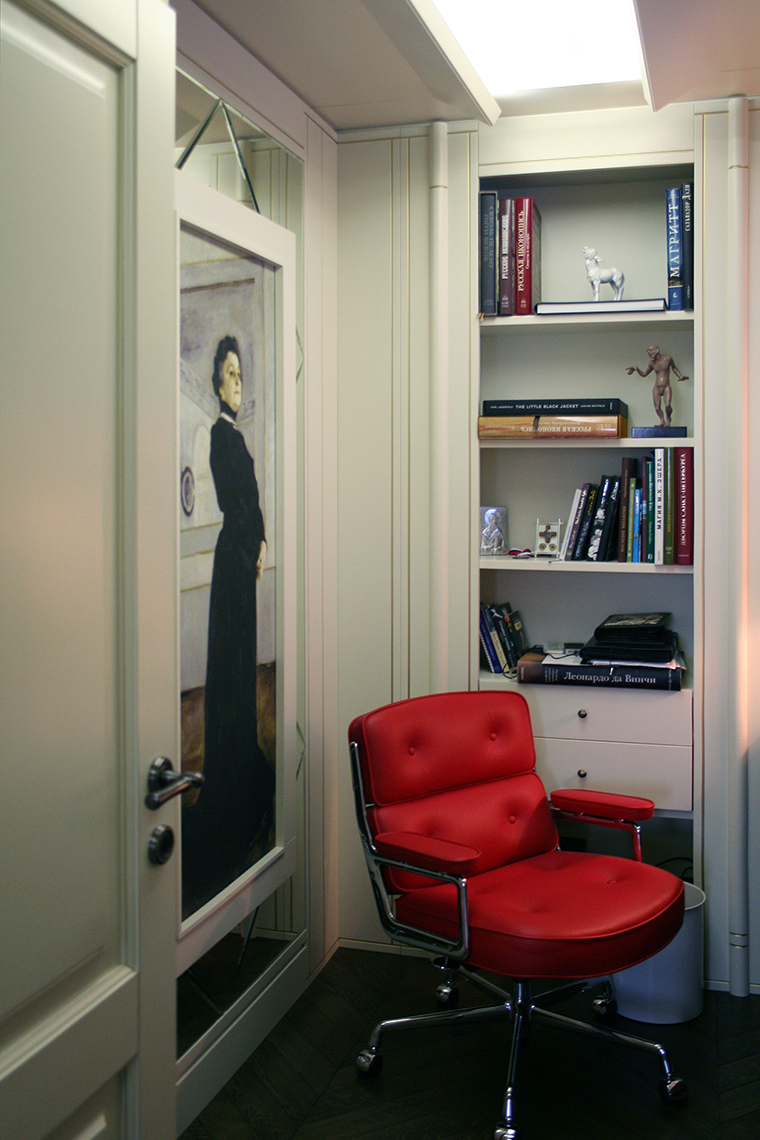 Фото № 56986 кабинет библиотека  Квартира