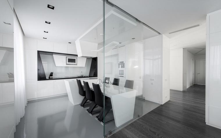 Квартира. столовая из проекта , фото №57157