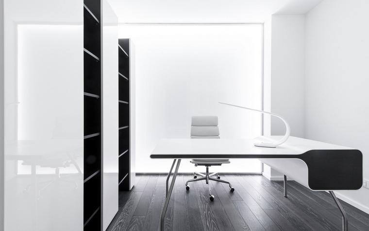 Квартира. кабинет из проекта , фото №57160