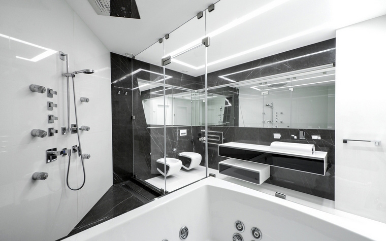 Квартира. ванная из проекта , фото №57161