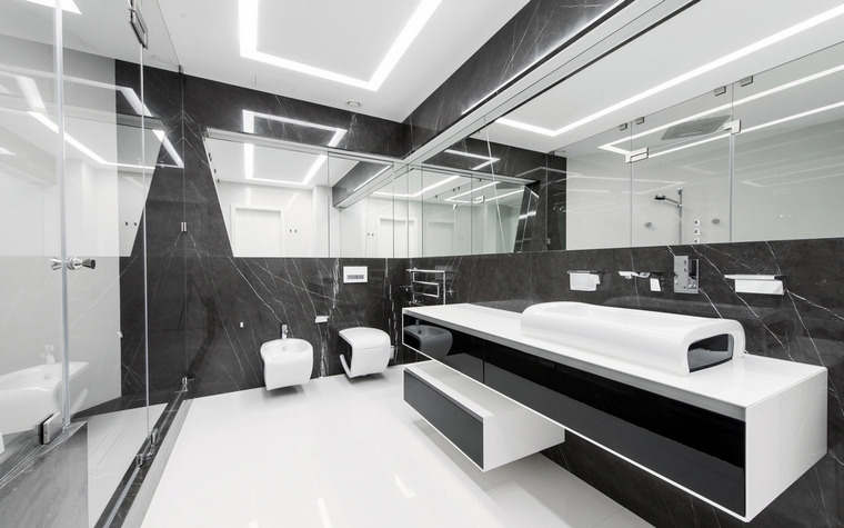 Квартира. ванная из проекта , фото №57162