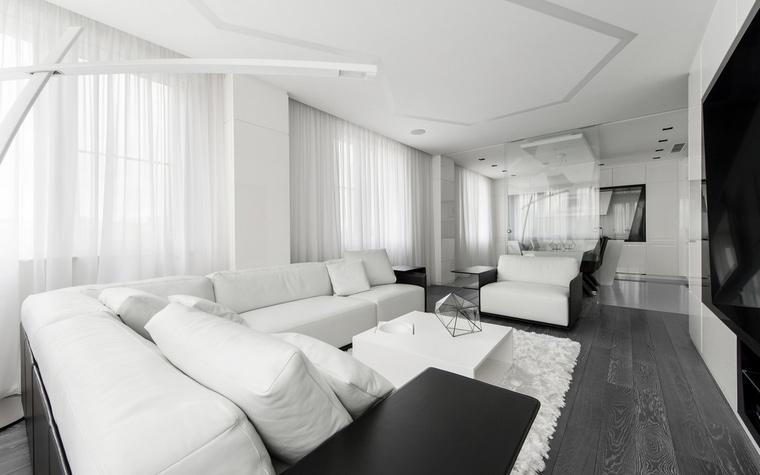 Фото № 57152 гостиная  Квартира
