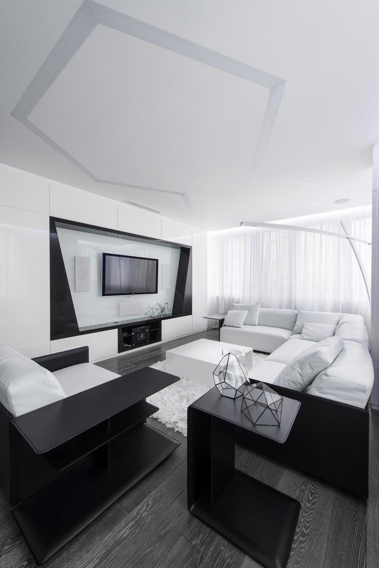 Квартира. гостиная из проекта , фото №57149