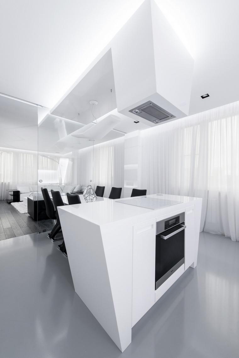 Квартира. кухня из проекта , фото №57154