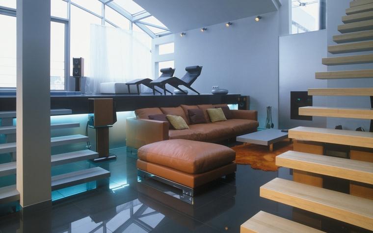 интерьер гостиной - фото № 57237