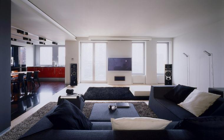 интерьер гостиной - фото № 57235